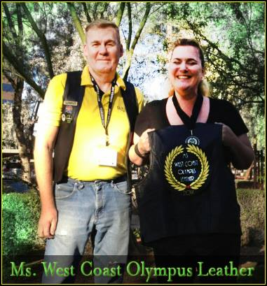 2015 West Coast Ms. Olympus Leather Ming Destiny
